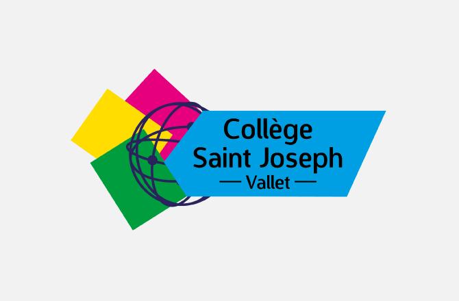 Création de logo pour collège à Vallet