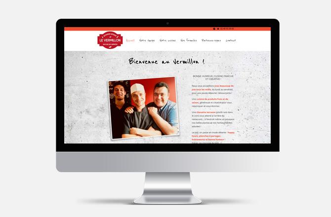 Création de site internet pour restaurant à La Chapelle Sur Erdre