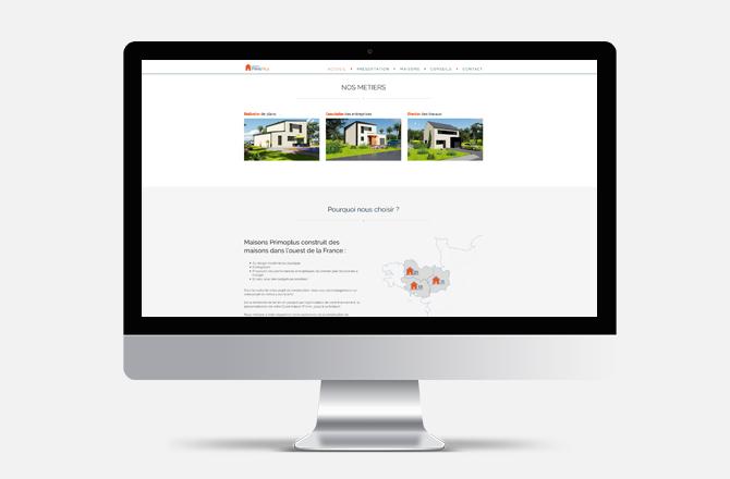 Création de site internet pour constructeur de maison à Nantes