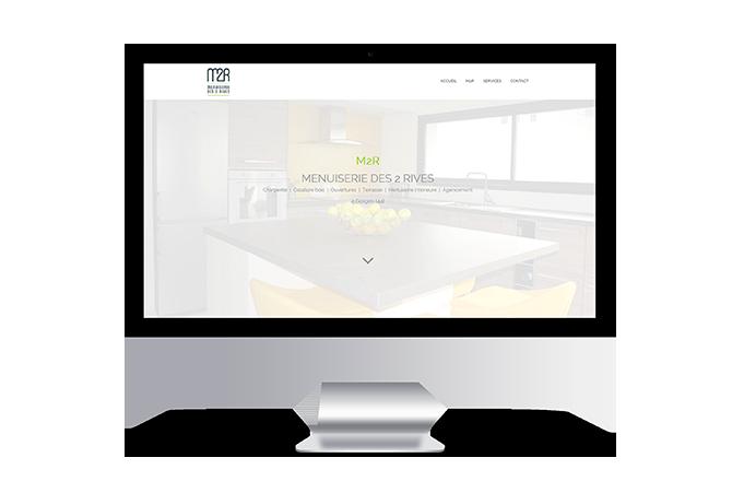 Création de site internet pour menuisier à Gorges