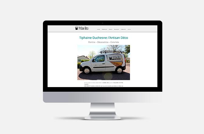 Création de site internet pour artisan au Landreau