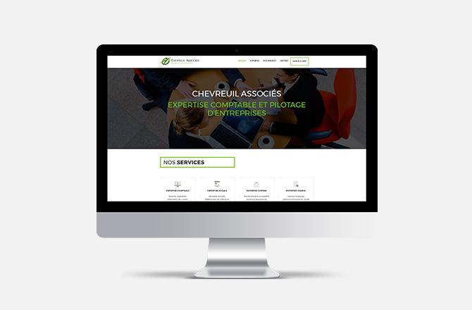 Création de site internet pour comptable à Vallet