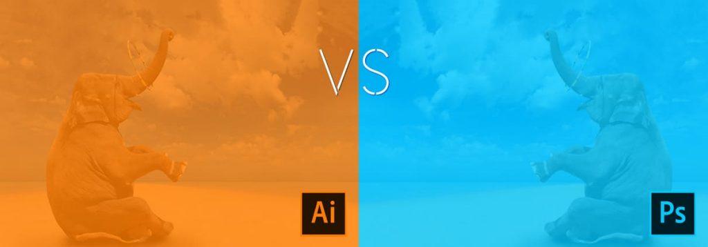 Faire la différence entre Illustrator et Photoshop