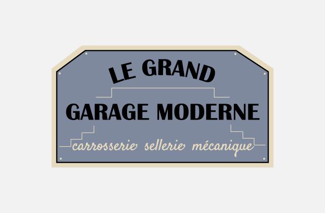 Logo à Vallet - Le Grand Garage Moderne